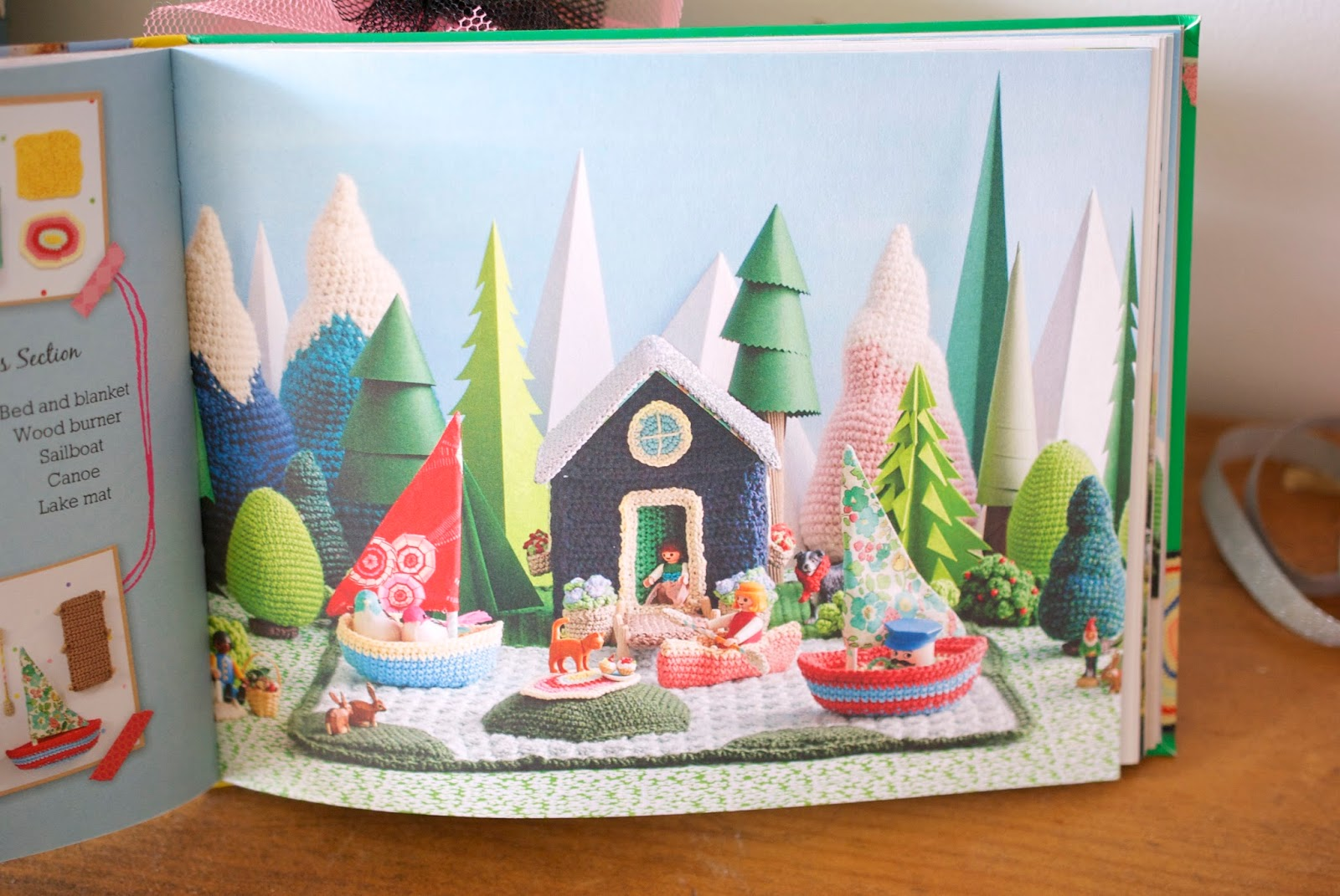 'Let's Go Camping! Crochet Your Own Adventure' - a look inside the book!