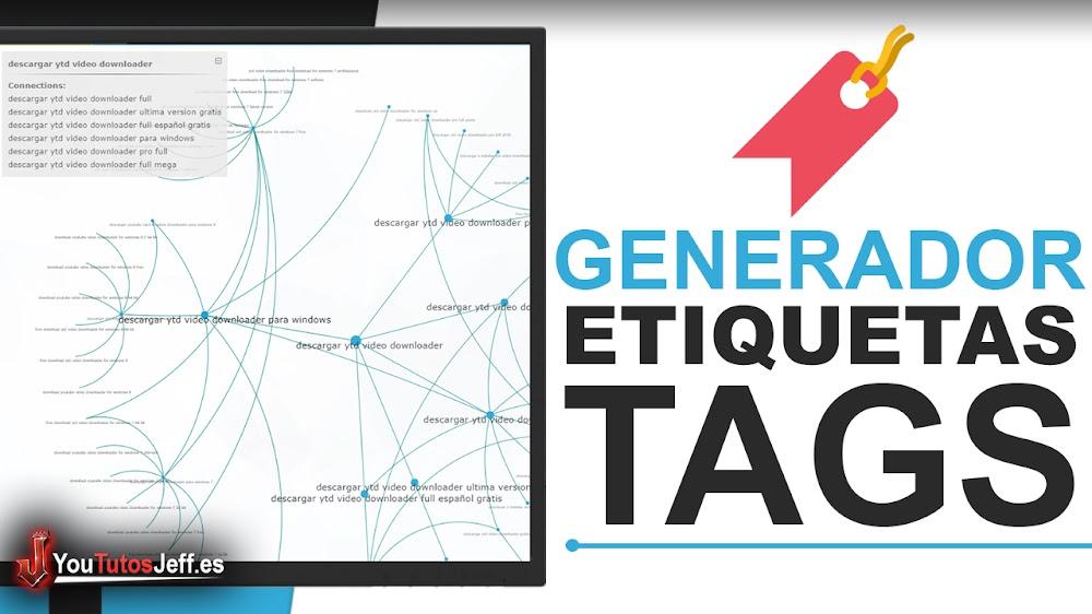 Generador de Etiquetas para youtube | Tags para Vídeos