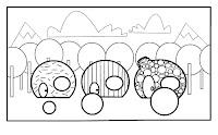 ilustracion para colorear