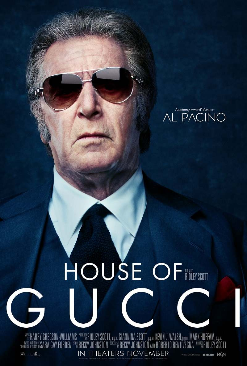 house of gucci poster al pacino