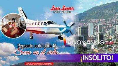 """""""Avioneta caliente"""" Empresa ofrece a turistas tener relaciones sobrevolando Medellín en avioneta"""
