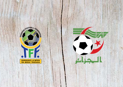 Tanzania vs Algeria -Highlights 1 July 2019
