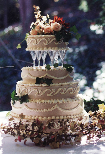 Weddingspies Fancy Wedding Cakes Faux Wedding Cakes