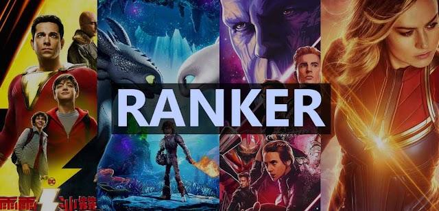 أفضل 10 أفلام في سنة 2019 حسب موقع Ranker