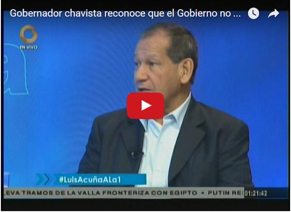 Por esta entrevista botaron a Luis Acuña del PSUV