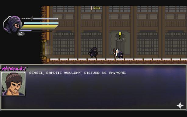 Pixel Shinobi Nine demons of Mamoru is a good arcade platformer game for PC about the ancient ninja art