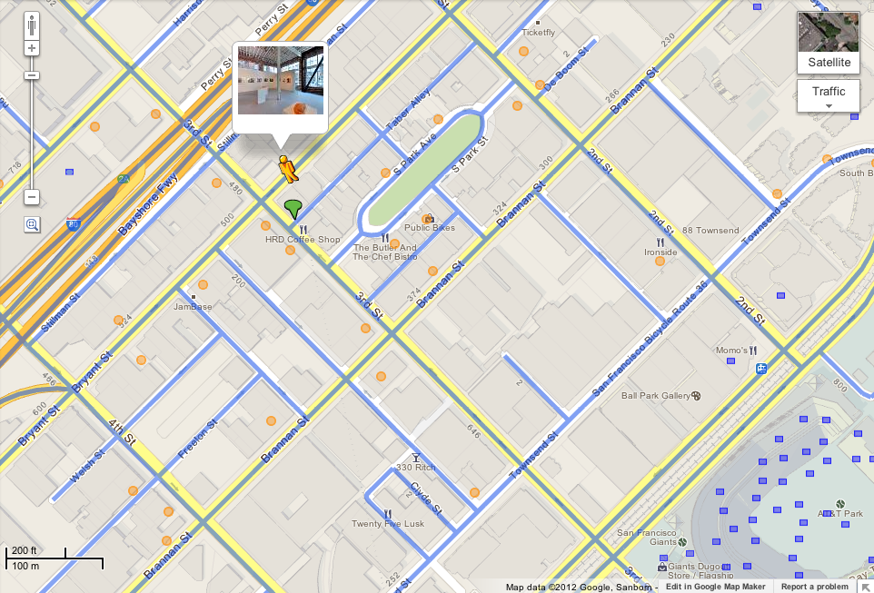 Google Lat Long An easier way to find panoramic interior imagery – Maps and Google