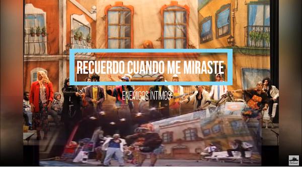 "👨👩👦Pasodoble ""Recuerdo cuando me miraste"" Chirigota ""Enemigos Intimos"" (2013)"