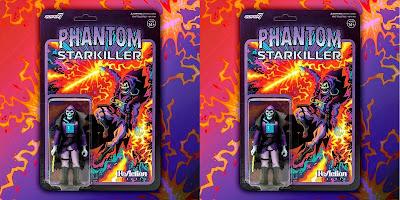 Phantom Starkiller Purple Haze Edition ReAction Figure by Killer Bootlegs x Super7