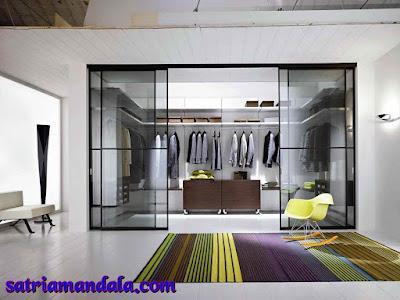 Desain Lemari Baju Super Mewah
