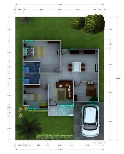 Desain Rumah Kecil Modern  Blog Koleksi Desain Rumah