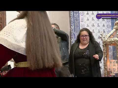 Saeta de Adeli la Mojarrita al Nazareno. Jueves Santo 2021