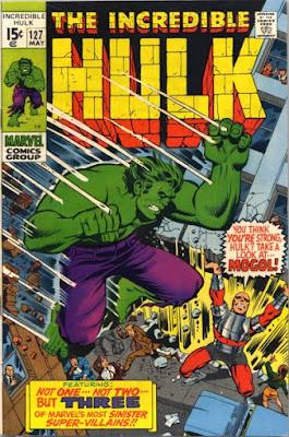Incredible Hulk #127, Mogol