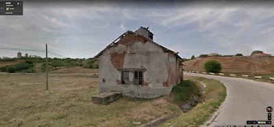 Fosta moară din Nicolae Titulescu, view Google StreetView din august 2012