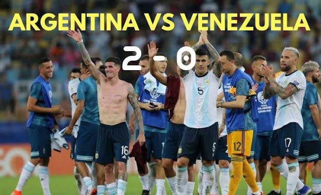 ARGENTINA vs VENEZUELA | Goals