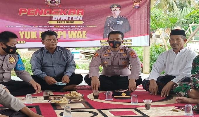 Polres Serang Ajak Masyarakat Yuk Ngopi Wae Bareng Pendekar Banten