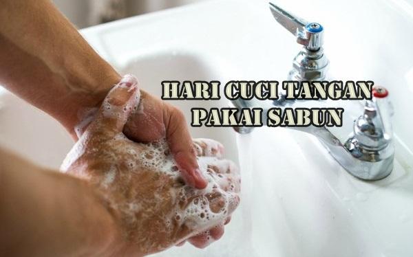 Asal Mula Hari Cuci Tangan Pakai Sabun Sedunia