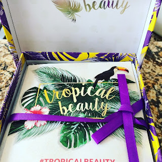 Tropica lBeauty GlossyBox July Box