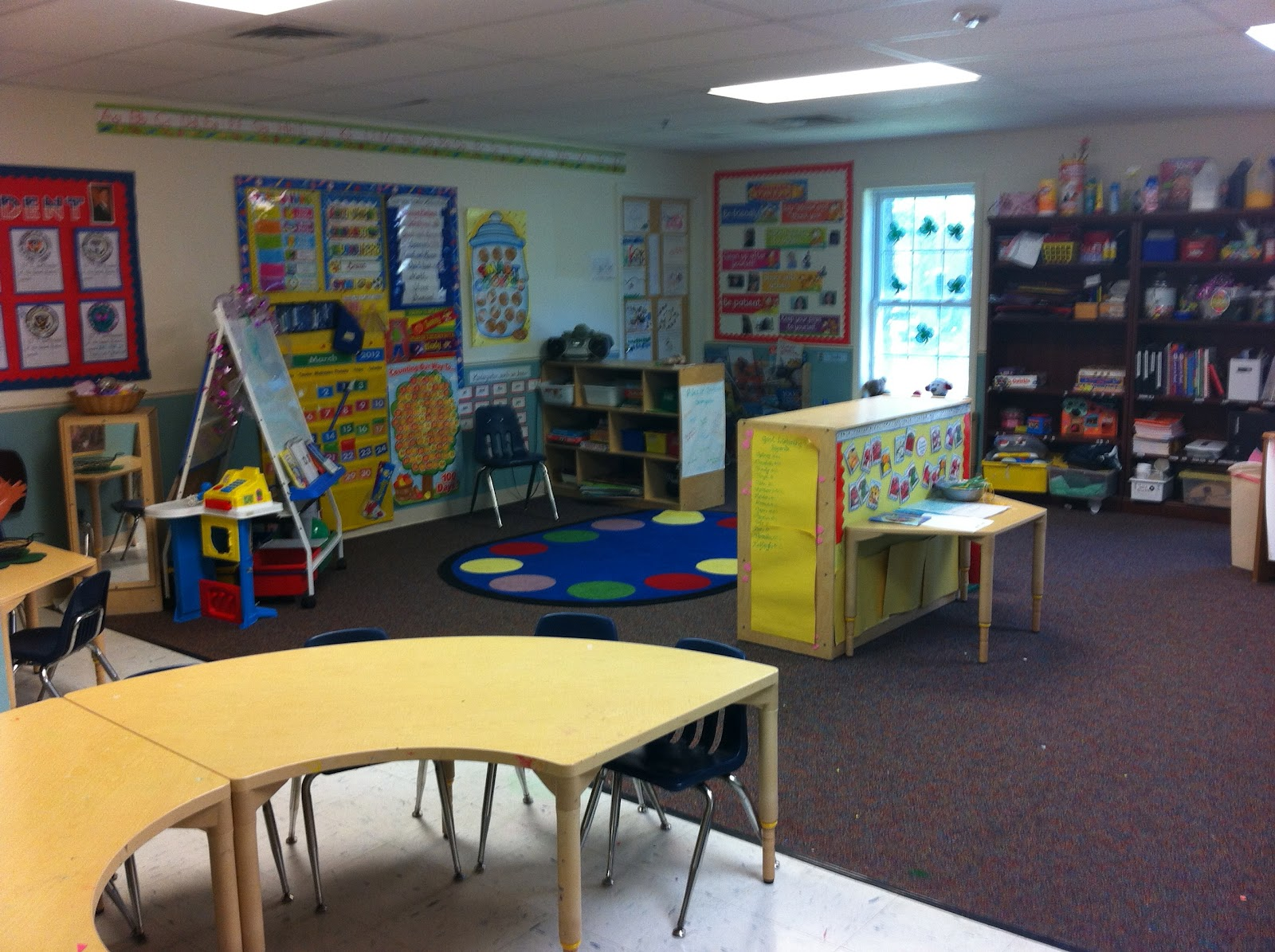 Blueberry Blu New Classroom New Environment
