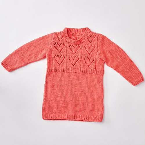 Child's Heart Yoke Tunic - Free Pattern