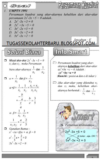 Ebook Rumus Cepat Matematika Smp