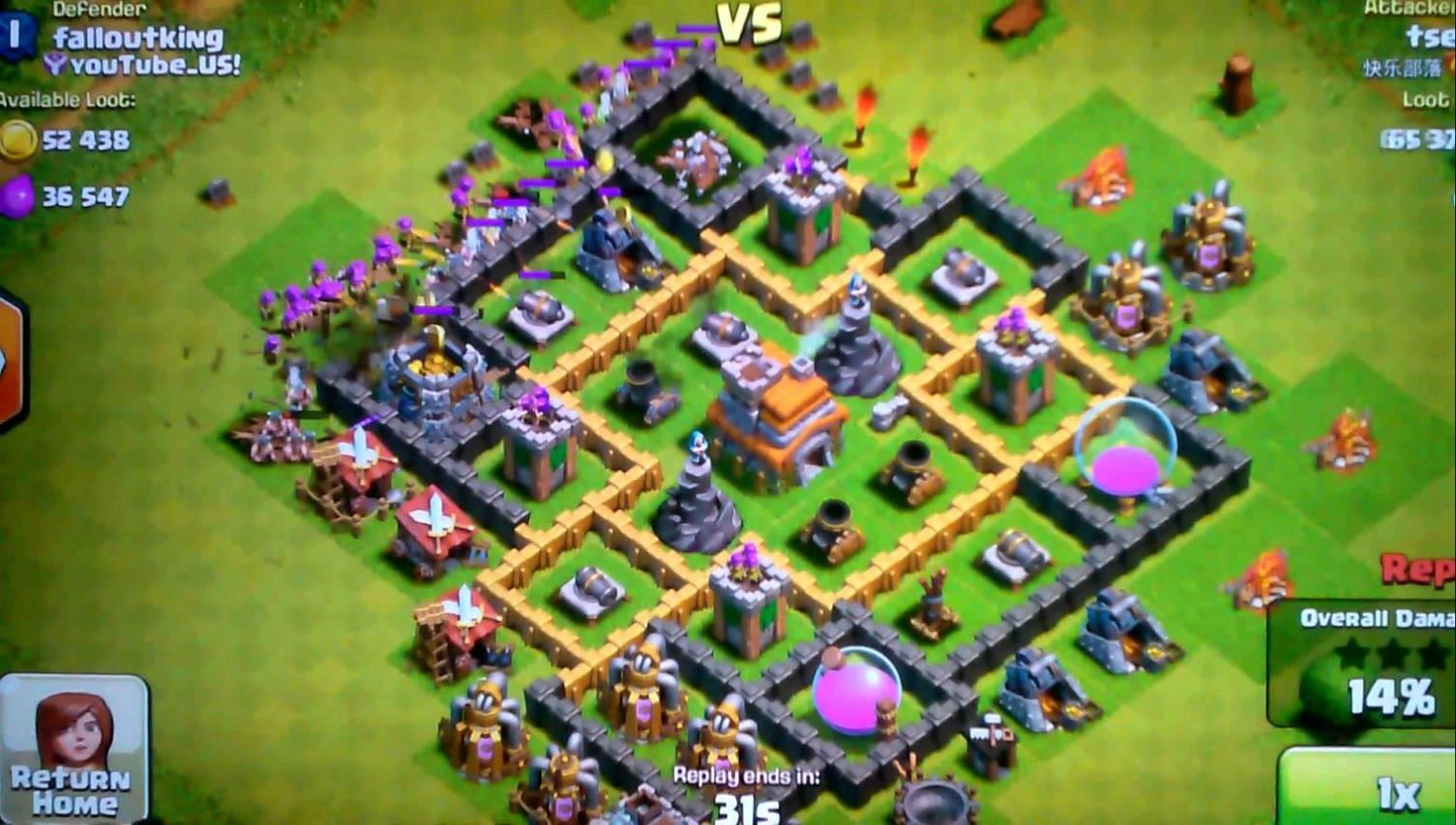 clash of clans 40 level
