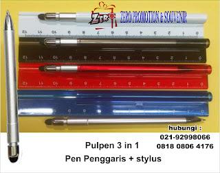 Jual Pen penggaris 3 in 1