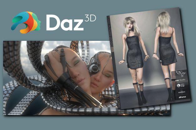 DAZ Studio - Εκπληκτικά τρισδιάστατα μοντέλα και Animation