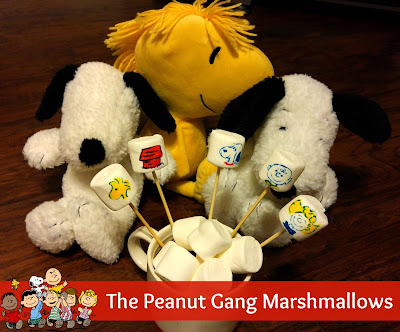 The Peanuts Gang Marshmallows