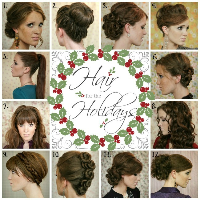 The Freckled Fox: Hair For The Holidays