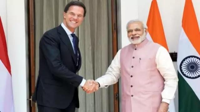 India-Netherlands Virtual Summit PM Narendra Modi hold Virtual Summit with PM of Netherlands Mark Rutte
