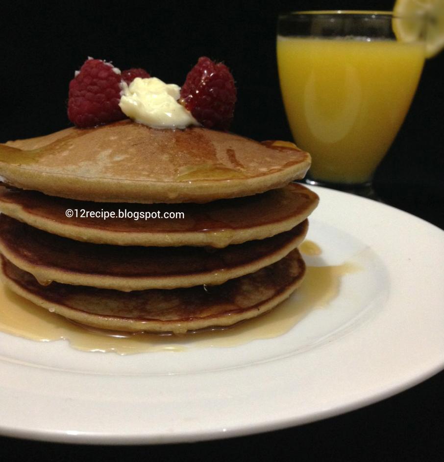 Whole Wheat Pancakes - Recipe Book