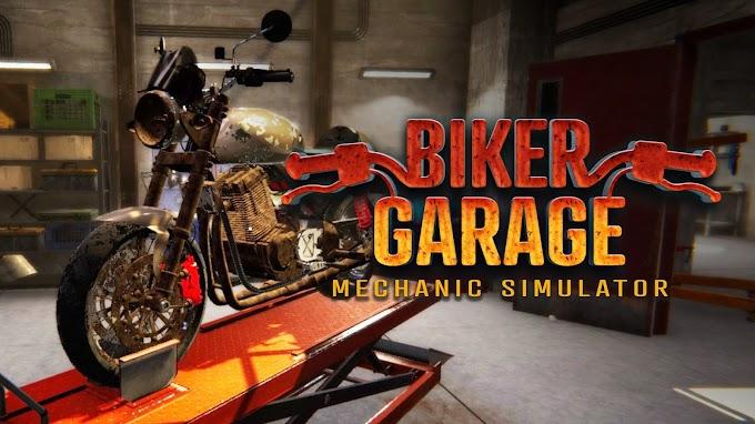 Biker Garage: Mechanic Simulator İndir