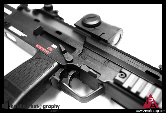 KWA MP7 GBB SMG, Airsoft Gas Blowback, Airsoft Submachine Gun, Pyramyd Airsoft Blog, Tom Harris Media, Dave Bakholdin Photography