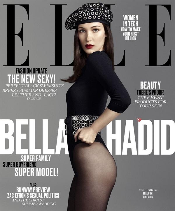 Bella Hadid Elle Magazine Cover