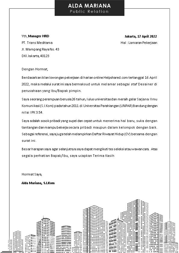 Kop Surat Lamaran Kerja 29