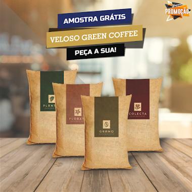 Amostras Grátis - Veloso Green Coffee