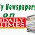 NAIJA NEWSPAPERS: TODAY'S THE DAILY TIMES NEWSPAPER HEADLINES [26 NOVEMBER, 2017].