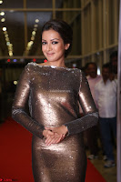Actress Catherine Tresa in Golden Skin Tight Backless Gown at Gautam Nanda music launchi ~ Exclusive Celebrities Galleries 013.JPG
