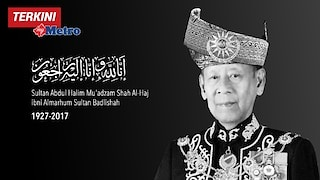 Sultan Kedah Mangkat