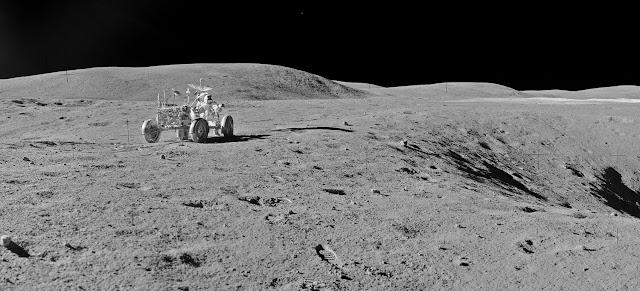 Аполло́н-16 Лунный ровер