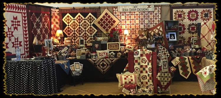 My Red Door Designs Quilt Craft Sewing Festival