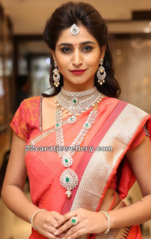 Varshini Sounderajan at Manepally Jewellers