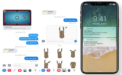 iMessage Bubble iOS 11