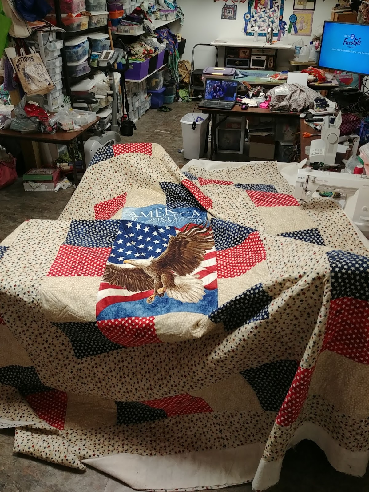 Idaho Quilter S Adventures Machine Quilting And Christmas
