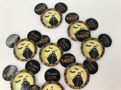 Magnets to make for Halloween themed Disney pixie dust