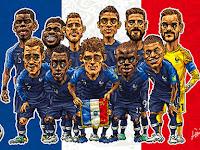 Winners of FreeCartoonsWeb World Cup 2018 Football Humor Cartoon Exhibition