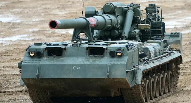 canhão russo
