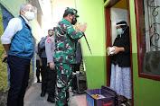 Panglima TNI Tinjau Sentra Vaksinasi dan Penerapan PPKM Darurat