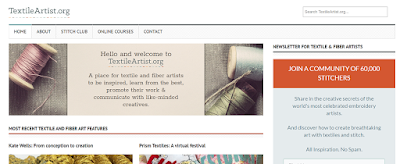 Top Listed Textile Blogs and Websites on the Web | Textile Artist